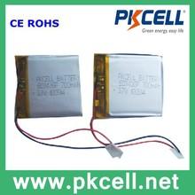 603436 li-polymer battery 3.7V 700mAh Li-polymer 603436 battery cell