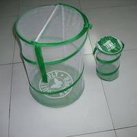 Portable mesh mini bird cage