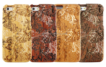 The Decorative Design Make of natural material Cover For Iphone 6 Case