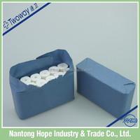 medical gauze bandage with blue paper packing
