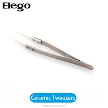 2015 high quality vapor ceramic tweezers