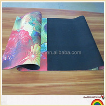 Logo exercise Mat, 100% natural rubber sports Mat 2015