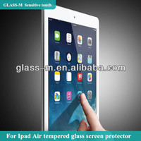 Flexible tempered glass cover for ipad air 5 glass-m brand with design