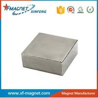 TS16949 Permanent Block Neodymium Magnet For Motor