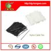 7.6X370mm Nylon Material and Self-Locking Type plastic bag zip tie 100PC/BAG