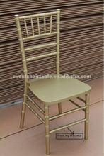 wooden tiffany chair for wedding