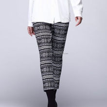 New discount innovative black women's prints long pants