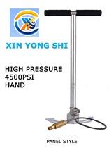 4500PSI 300bar 30mpa high pressure pcp hand operated air pump hand car mini panel air pump
