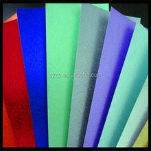 colorful glossy Embossed aluminium foil laminated paper, Embossed aluminium foil paperboard