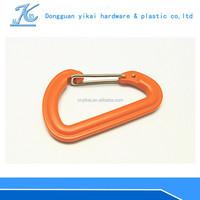 YIKAI Plastic Hooks/ plastic D carabiner/plastic hook for climbing