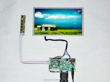 "DVI LCD Monitor Control Board 1024x600 8.9"" B089AW01 V1 40 pin LED Screen Panel"