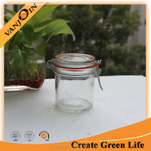 250ml Glass Clip Top Storage Jar