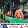 Modified bituminous waterproofing material machine -- China factory and Engineer installation