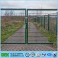 Esgrima portão do jardim ferro Design da grade