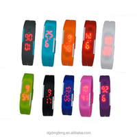 Factory Price Customized LED watch,Wholesale Fashion Bracelet Watch,Stainless Steel Men Brand Watch