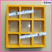 yellow slip resistant and fire retardant FRP mold grating