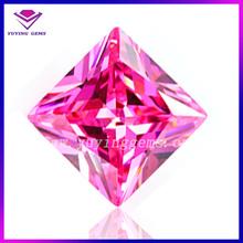 sintético forma quadrada nome rosa gemstone