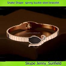 6 colors gold snake bangle bracelet B brand fashion bracelet 2015