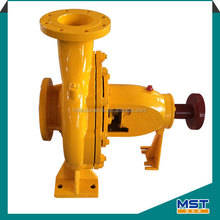 High suction belt driven centrifugal water pump