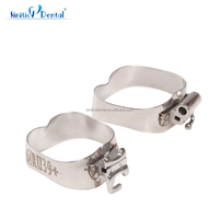 M series ortho begg band dental orthodontic band with tubes
