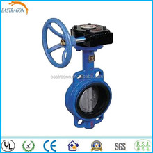 Casting Worm Gear Butterfly Valves V Type DN250