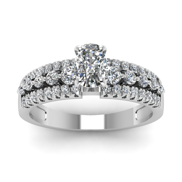cushion-cut-diamond-triple-row-side-stone-engagement-ring-in-14K-white-gold-FDENS3014CURANGLE5-NL-WG.jpg