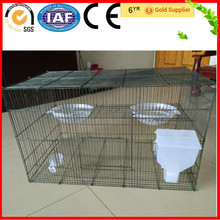 China Alibaba Wholesale Square Top Cage Bird With Pallet, Perch, Drinker, Feeder, Nest