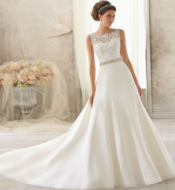 New modern wedding dresses: Latest wedding gown designs 2014