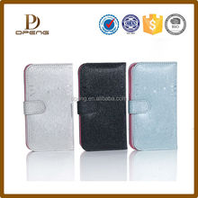 """New Design Universal Mobile Phone 5"""" Inch Leather Case for Samsung S4"""