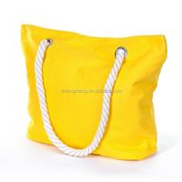 Recycled Cotton Market Bag / Reusable Heavy Duty Canvas Cotton Tote Bag