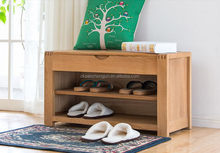 Fashion special indoor bench solid wood shoe bench