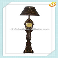 2015 coconut tree new style antique floor lamp