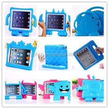 3D Cartoon Kids Safe Foam EVA Handle stand Case Cover Silicone soft for iPad 2 3 4 Mini