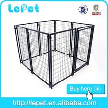 wholesale welded tube modular large collapsible dog kennel