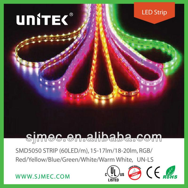 High Quality Single Color Smd 5050 LED Strip