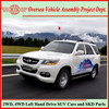 Not Used Japanese or European But China New Gasoline LHD Automatic 5 Speed Gasoline 4WD SUVs