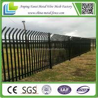Wrought ornamental iron spearhead iron fence finials