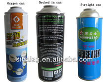 selling oxygen aerosol can, straight can, necked in cans from Guangzhou factory