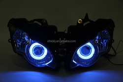 Fully Assembled Headlight Angel Eye HID For Honda CBR1000RR CBR1000 RR 2008-2011