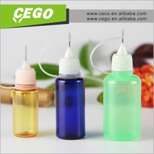5ml, 10ml, 30ml, PE plastic dropper bottle, white cap, thin tip
