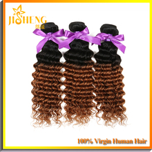 Alibaba Website Fast Delivery 6A Perm Yaki Human Hair&Blowout Weave Hair Extension&Virgin Indian Deep Curly