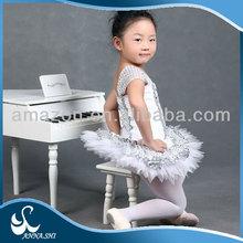 Top selling Dance wear supplier Stratified Girls sequin dance skirt