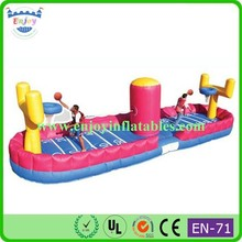 2015 Enjoy inflatable bungee jumping, inflatable bungee basketball, inflatable bungee Run