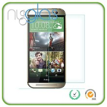 Factory Price For HTC ONE M8 Protectors Protective Film Temper Glass Screen Protector for HTC ONE M8