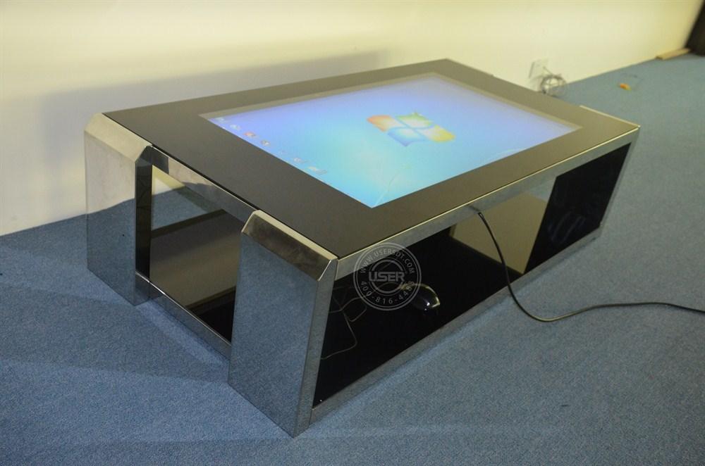 새로운 디자인 대형 터치 테이블 TV 모니터 led 스크린 적외선 터치 스크린 PC 특별한
