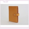 2015 latest design hand made simple leather wallet for ladies
