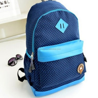 High School Common Contrast Backpack For Sale
