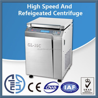 High speed noiseless cold centrifuge/ high capacity centrifuge