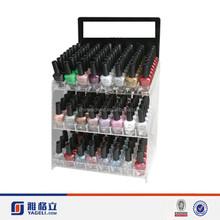 Yageli 3 tiers acrylic nail polish display stand rack/makeup display shelf