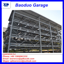6 levels lift-sliding parking system cheap car elevator cost